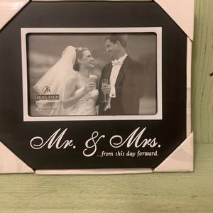 Wedding photo frame.